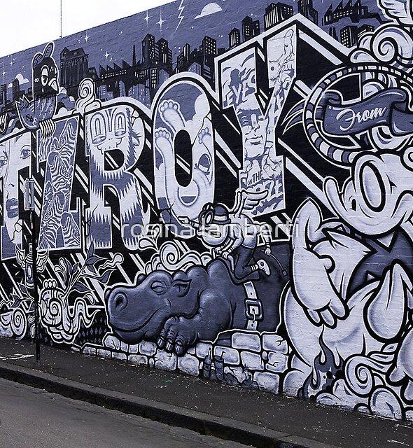Melbourne grafitti Calendar by Rosina  Lamberti
