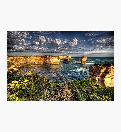 Shipwreck Coast  - Twelve Apostles, Great Ocean Road - The HDR Experience Photographic Print