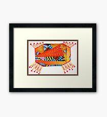 Sunset Blanket Framed Print