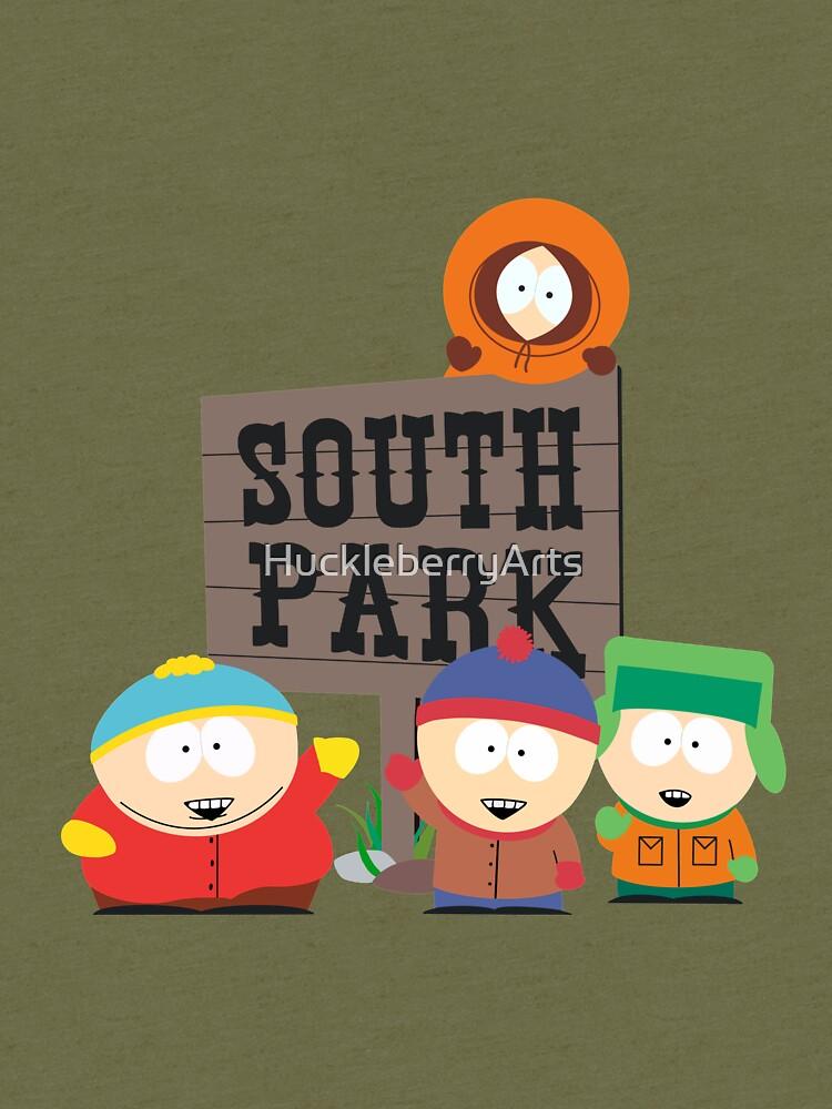 South Park Boys von HuckleberryArts