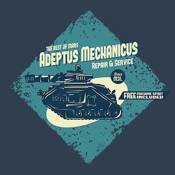 Adeptus Mechanicus - Leman Russ by moombax