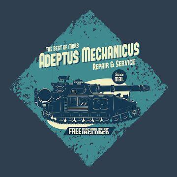 Adeptus Mechanicus - Shadowsword - Blue by moombax