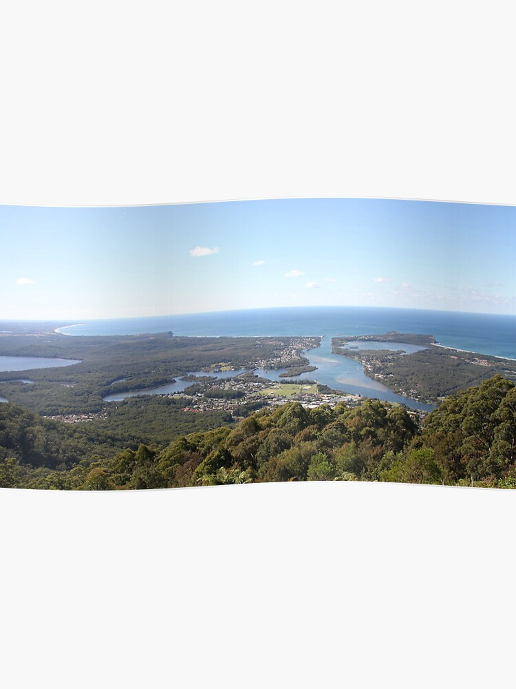 Curvature of the Earth - North Brother Mountain, NSW, Australia | Poster