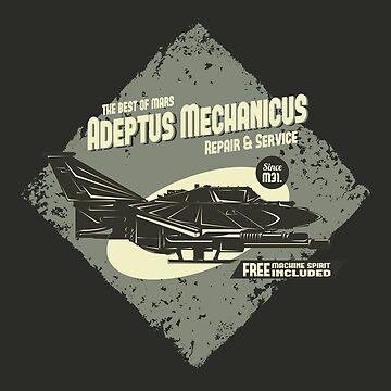 Adeptus Mechanicus - Lightning - Gray by moombax