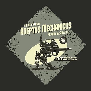 Adeptus Mechanicus - Sentinel - Gray by moombax