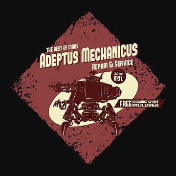 Adeptus Mechanicus - Onager Dune Crawler by moombax