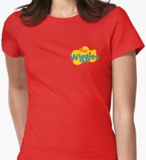 The Wiggles Logo Women's Fitted T-Shirt