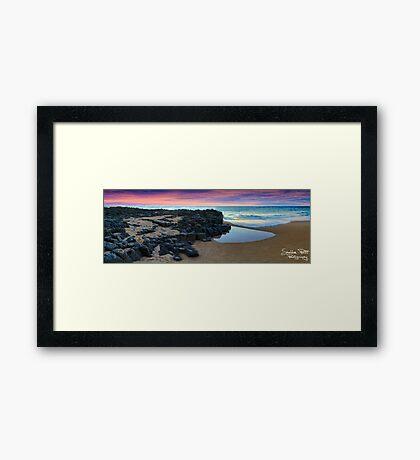 Bunbury Sunset Framed Print