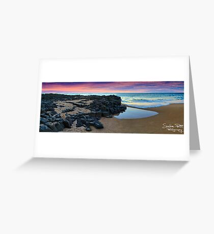 Bunbury Sunset Greeting Card