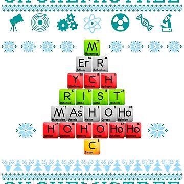 Oh ugly sweater Chemistree, Periodic, Chemistry t shirt by bestdesign4u