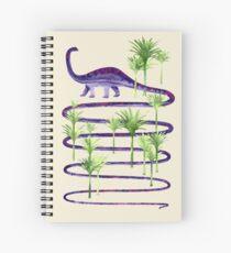 Cuaderno de espiral Belleza prehistórica