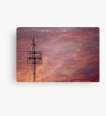 Modern Sunset Canvas Print