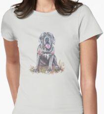 Mastiff T-shirt Womens Fitted T-Shirt