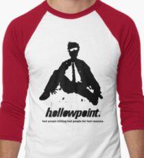 Hollowpoint - moving on Men's Baseball ¾ T-Shirt