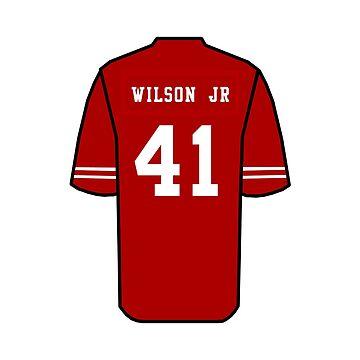 Jeff Wilson Jr Jersey by Kate832