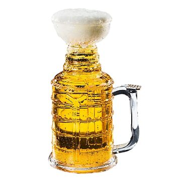 Beer Trophy Stanley Cup Hockey Champions by oggi0