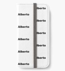 Alberto iPhone Wallet/Case/Skin