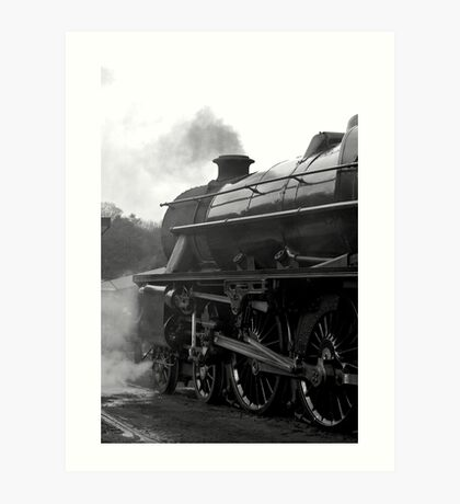 Getting Steam Up Art Print