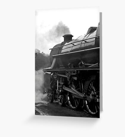 Getting Steam Up Greeting Card