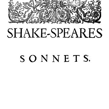 Shakespeare's Sonnets by buythebook86