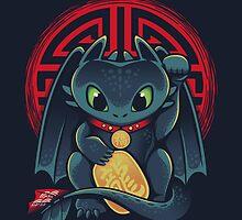 Maneki Dragon by victorsbeard