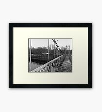 Just Another Shot Of The Shakey Bridge Framed Print