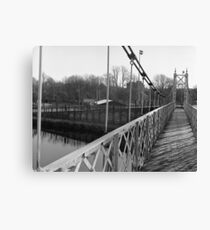 Just Another Shot Of The Shakey Bridge Canvas Print