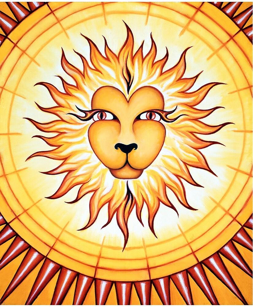 Leo - Shine your light into the world! by Sarah Jane Bingham
