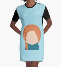 Princess Inspired Graphic T-Shirt Dress