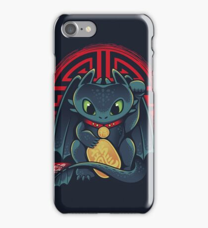 Maneki Dragon iPhone Case/Skin