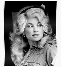 Dolly Parton 1970's Portrait Poster