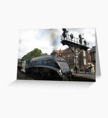 Sir Nigel Gresley, I assume? Greeting Card