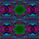 Newton Raphson Fractal Seamless Pattern IX by shane22