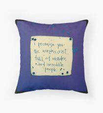 I Promise You #3 Throw Pillow