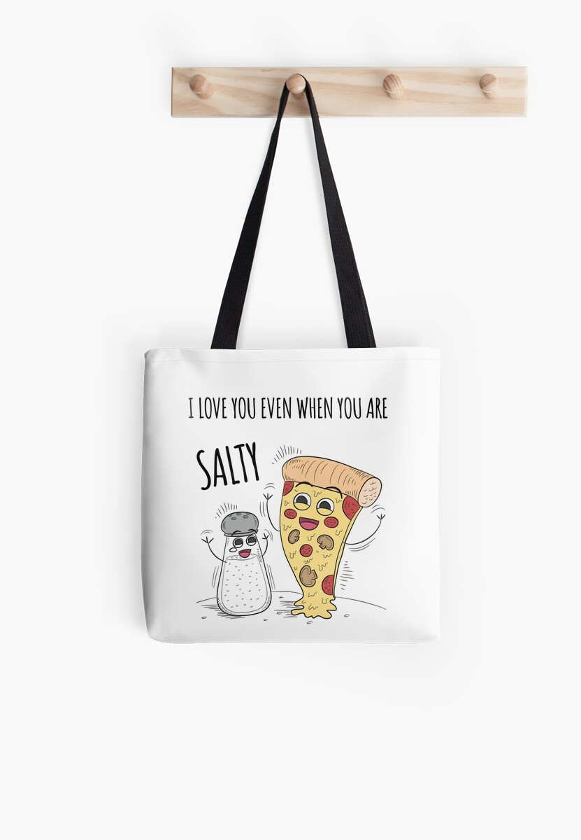I love the salty you - tote bag