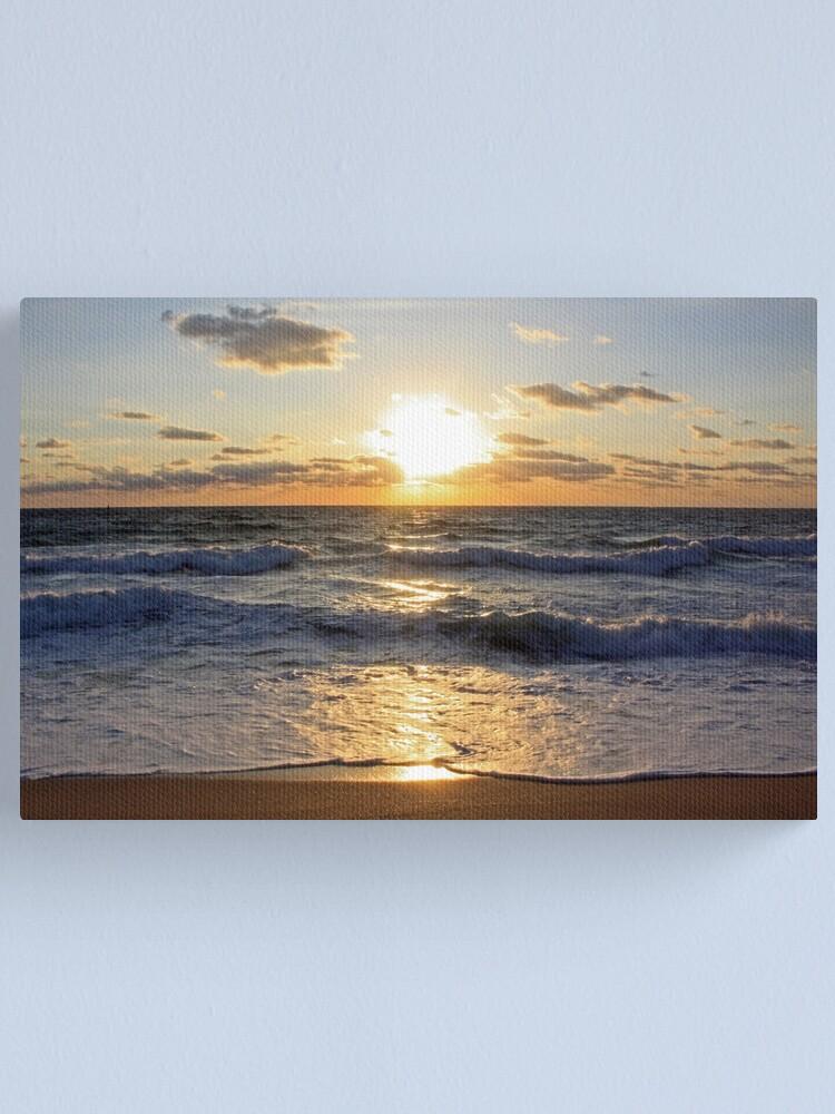 Alternate view of December Sunrise - I Canvas Print
