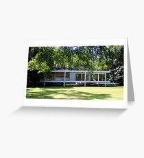 Mies van der Rohe Farnsworth House Greeting Card