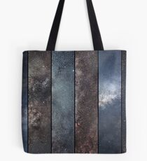 Space collage. Astronomy collage. Astrophotography collage. universe. Long exposure photography. Tote Bag