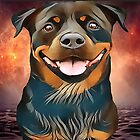 ROTTWEILER - BEGIN EVERYDAY WITH A SMILE :) by Sunleil