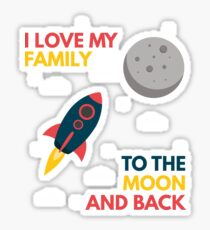 Family love love relatives brothers sisters gift Sticker