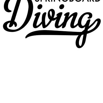 Springboard Diving by Vectorqueen