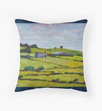 Ruined House, Ireland Throw Pillow