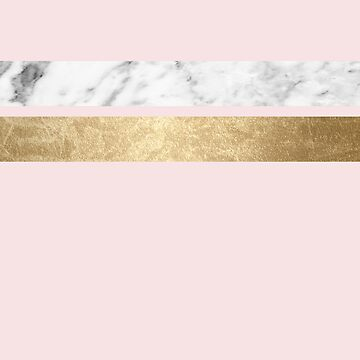 Baby doll - blush pink marble by marbleco