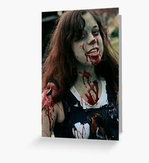 Infected Greeting Card