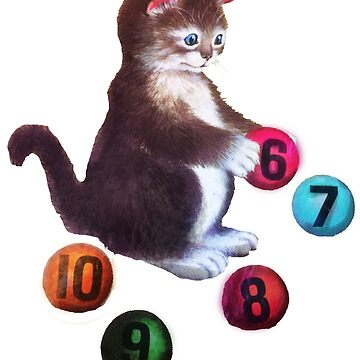 Kitten by Numbers by Chronos82