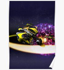 Stellar Drift Poster
