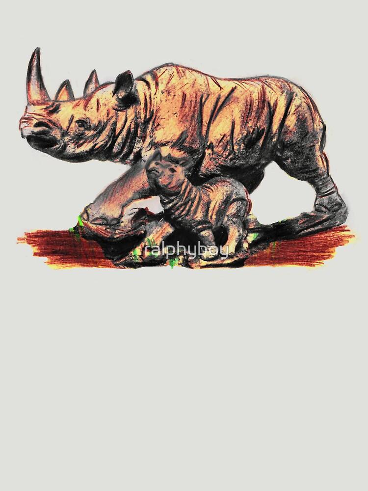 rhino by ralphyboy
