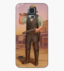 Billy Midnight - Cigarette Card (RDR2) Case/Skin for Samsung Galaxy