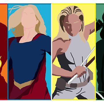 Superheroes 1 by Celesten