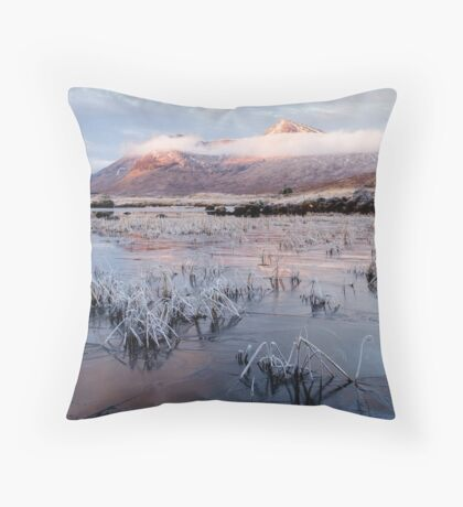 Advance Of The Ice Throw Pillow